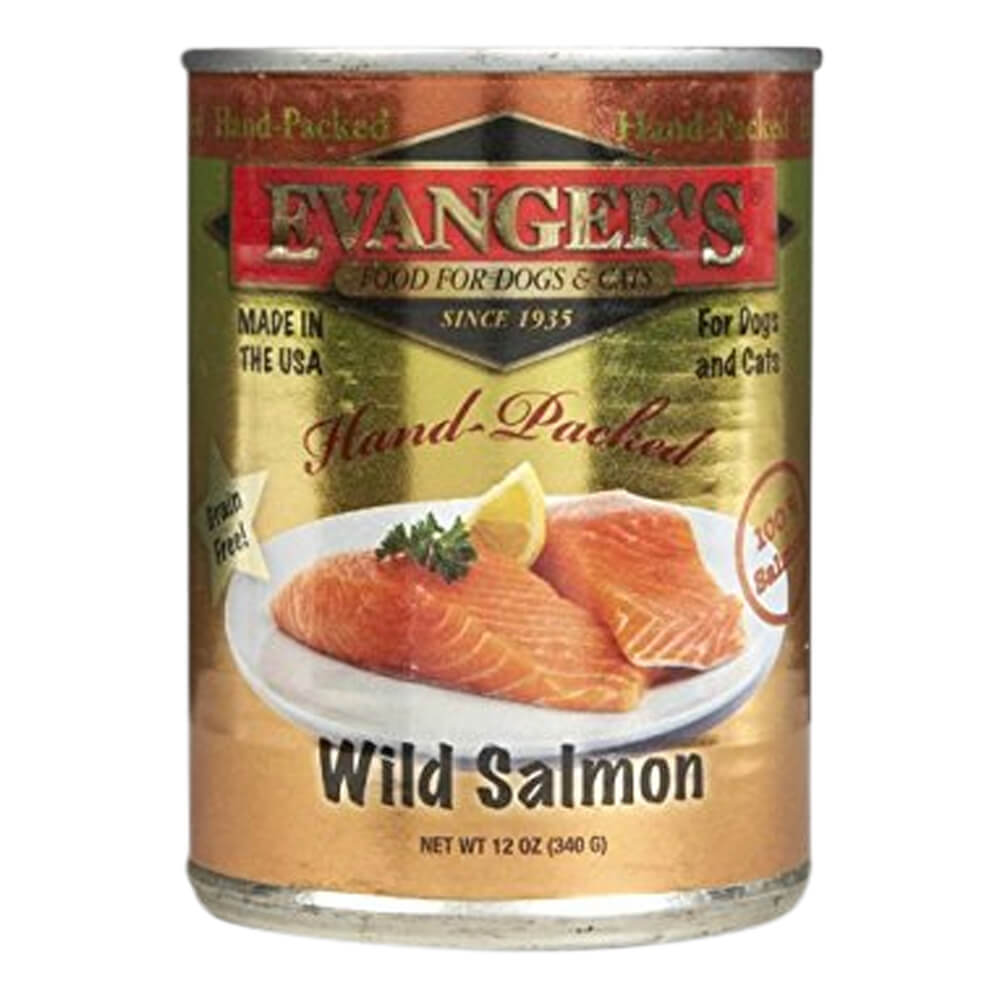 Super Premium Wild Salmon for Dogs & Cats, 12.8 oz