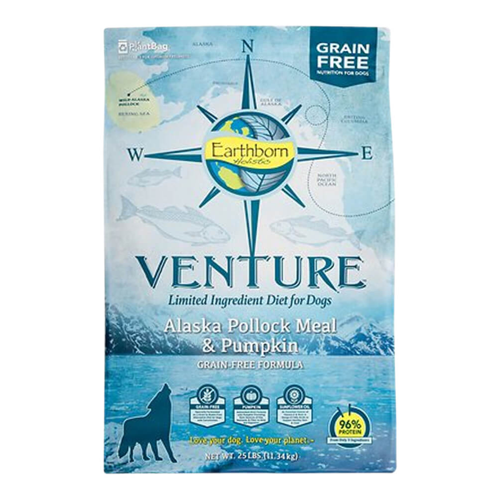 Venture Alaska Pollock & Pumpkin, Dog Food, 25 lb