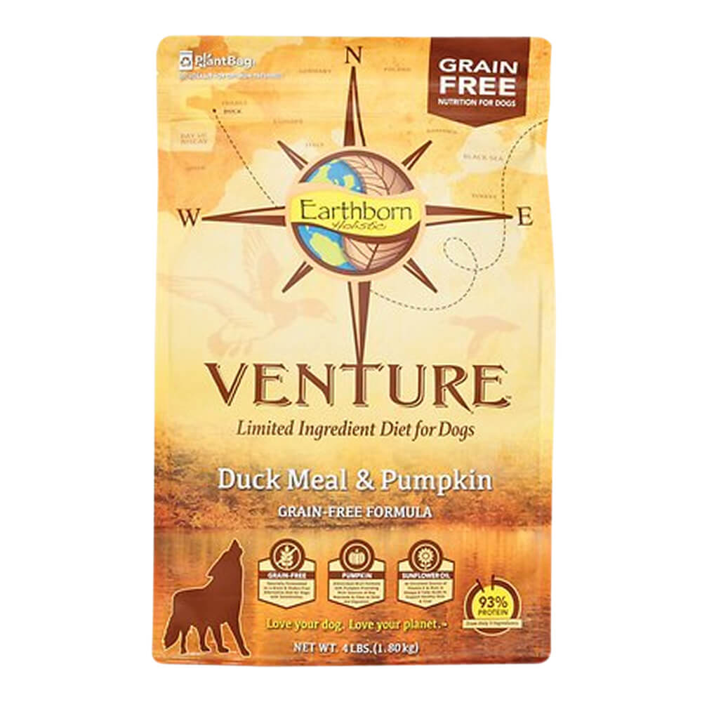 Venture Duck & Pumpkin, Dog Food, 4 lb