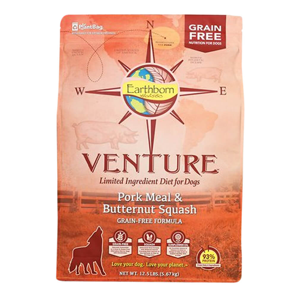 Venture Pork & Butternut Squash, Dog Food, 12.5 lb