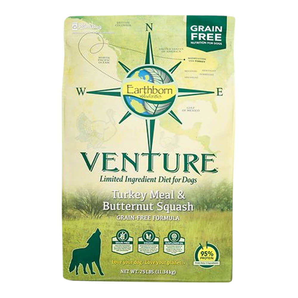Venture Turkey & Butternut Squash, Dog Food, 25 lb