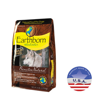 Earthborn Holistic Primitive Natural Grain-Free Dog Food, 5 lbs