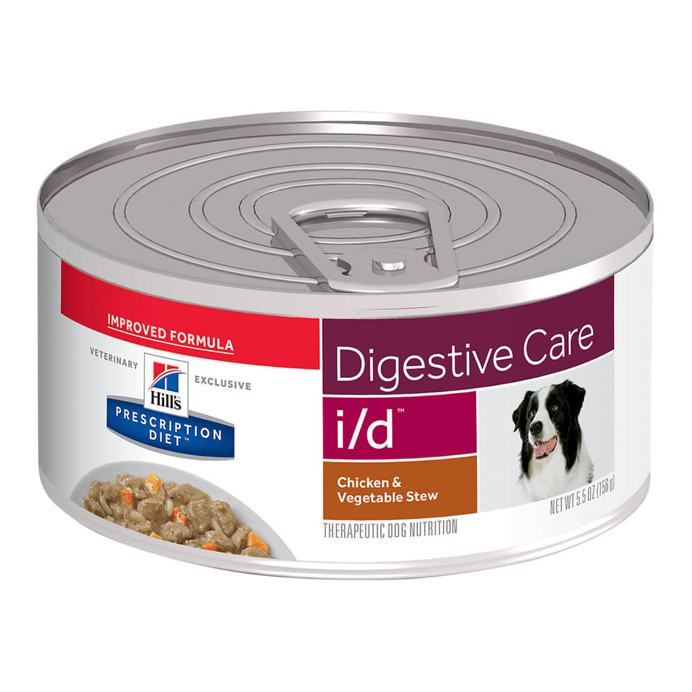 Hill's Rx i/d Canine Digestive Care  Chicken & Vegetable Stew, 5.5oz