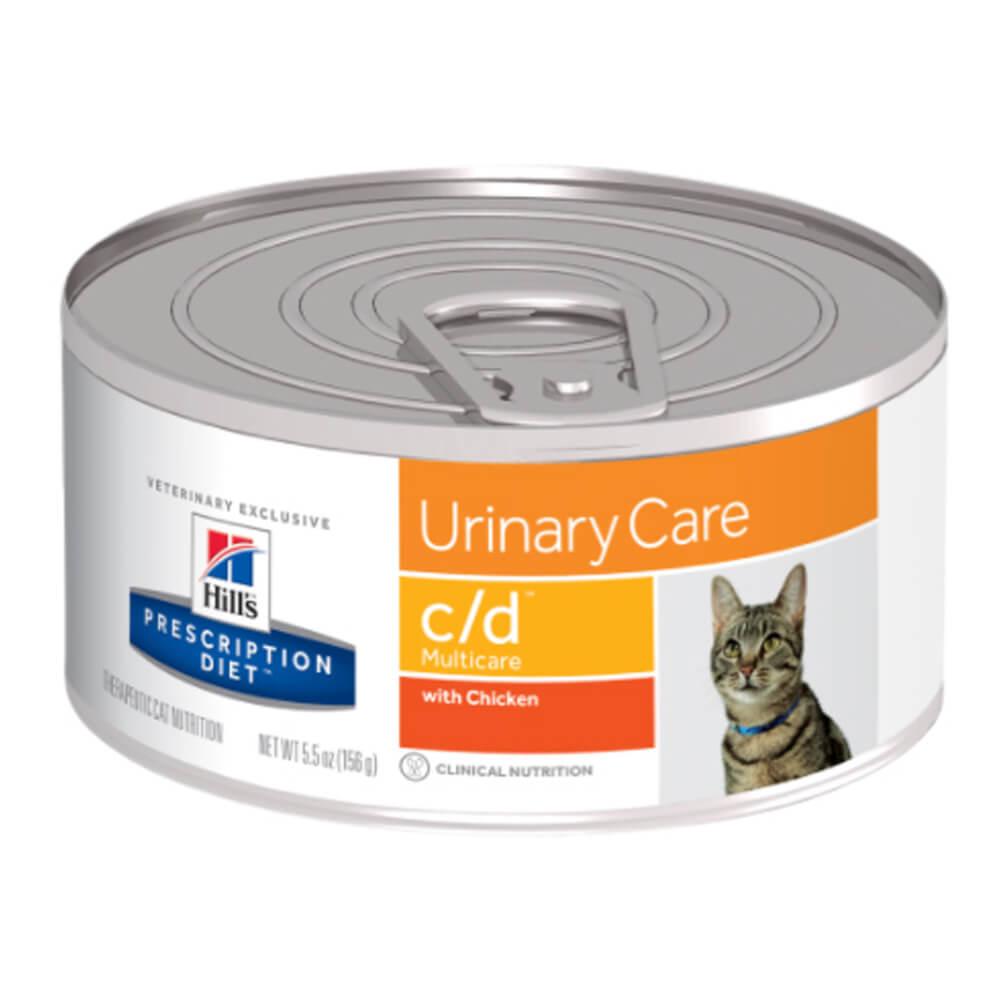 Hill's Science Diet Rx c/d Feline Cans with Chicken, 5.5 oz