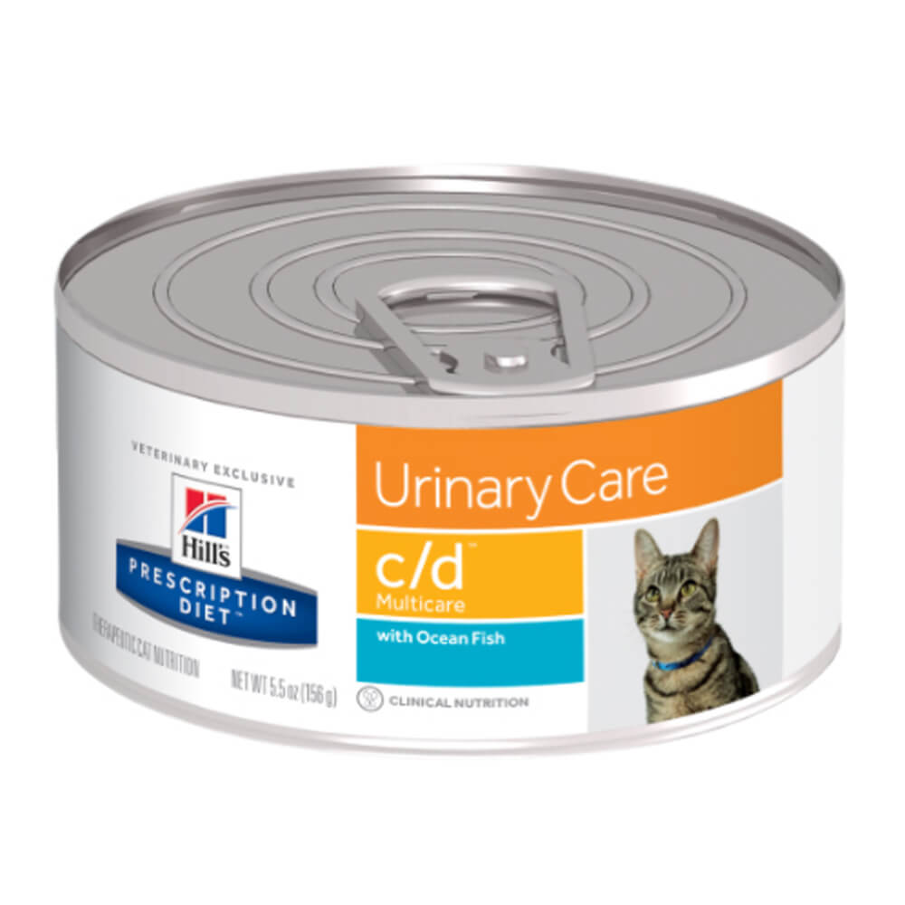 Hill's Science Diet Rx c/d Feline cans with Seafood, 5.5 oz