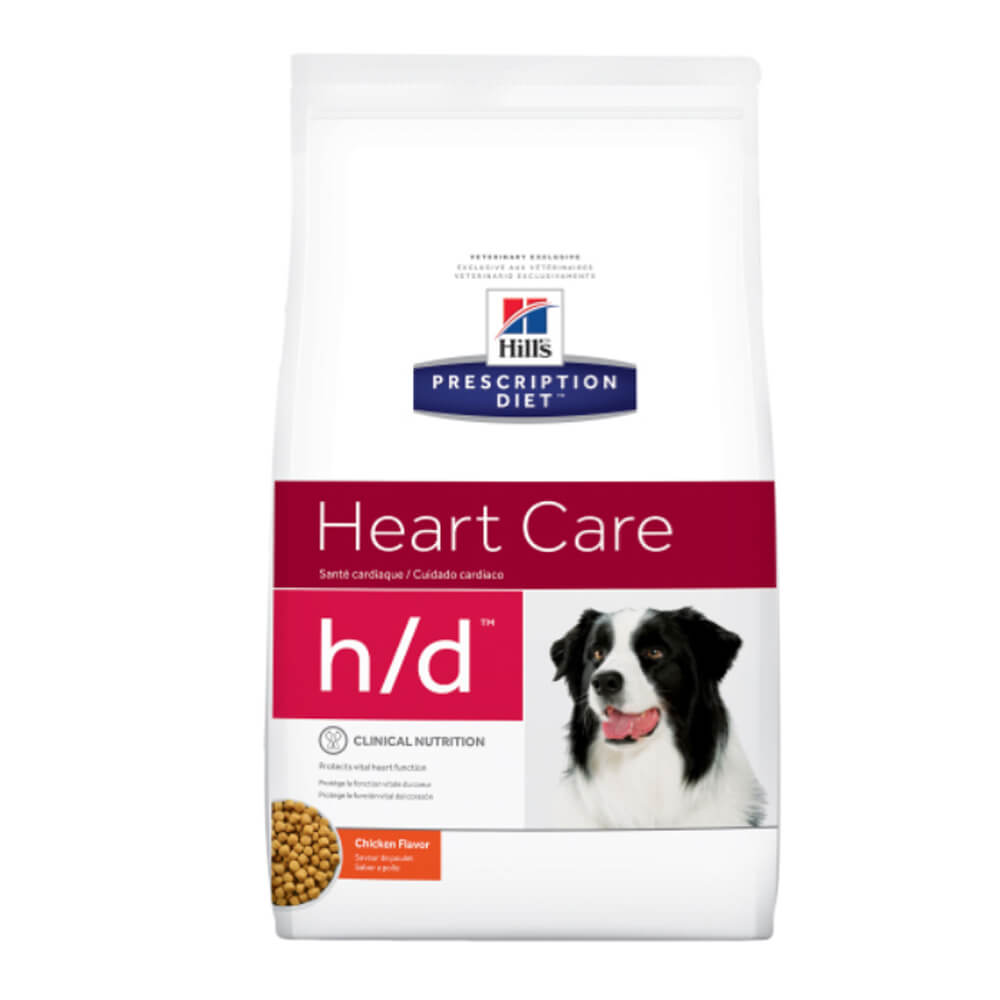 Hill's Rx h/d Canine Heart Care Chicken Flavor 17.6 lbs