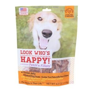 Look Who's Happy Fetch'n Fillets Jerky Treats