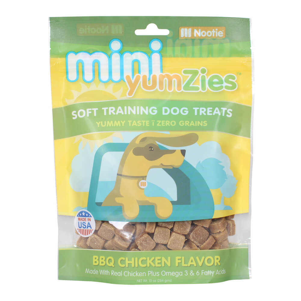 Mini YumZies, Soft Training Dog Treats, Grain Free, BBQ Chicken, 10 oz