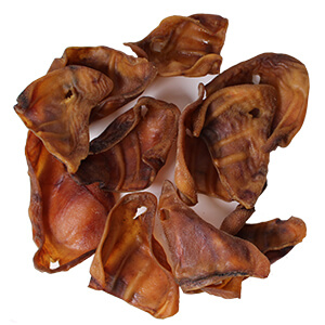 Original Pig Ear Dog Treats, 10pk