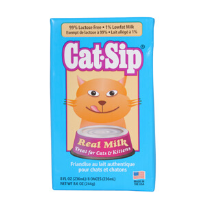 Cat-Sip Real Milk Treat for Cats & Kittens