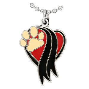 The Memorial Paw, Pendant