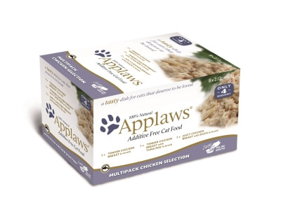 Applaws Chicken Multi Pack 2.12oz Peel/32Cs