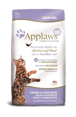 Applaws Chicken & Duck Dry Cat 15.43lb