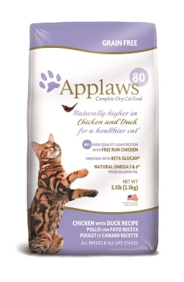 Applaws Chicken & Duck Dry Cat 5.5lb