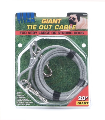 Titan Giant Tie-Out Cable 20'