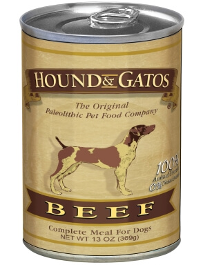 H&G Dog Beef Can 12/13 oz