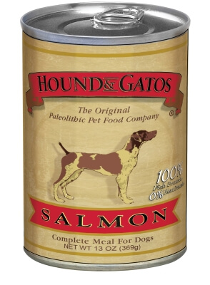 H&G Dog Salmon Can 12/13 oz