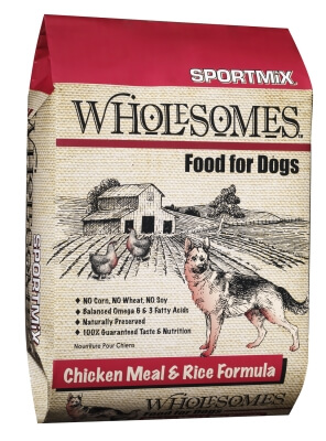 Sportmix Wholesome Chicken/Rice 26/16 40lb
