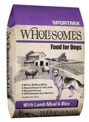 Sportmix Wholesome Lamb/Rice 22/12 40lb