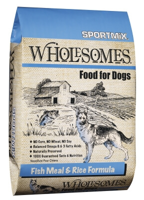 Sportmix Wholesome Fish/Rice 22/12 40lb