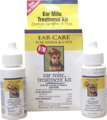 R-7 Ear Mite Treatment 1 oz