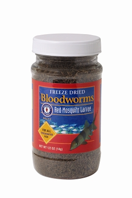 Bloodworms Freeze Dried