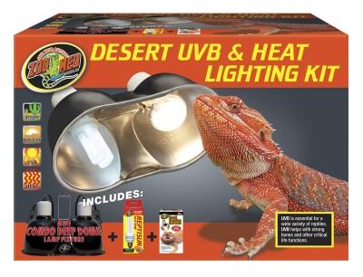 Desert Uvb Heat Lighting Kit