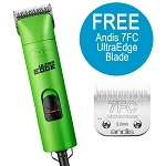 Andis UltraEdge AGC Super 2-Speed Detachable Blade Clipper, Green, w/ FREE Comb Set