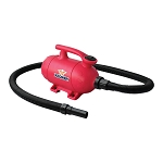 XPOWER B-2 Pro at Home Pet Grooming Dog Force Hair Dryer and Vacuum, Pink
