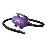 XPOWER B-2 Pro at Home Pet Grooming Force Dryer and Vacuum, Purple