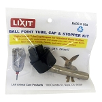 Lixit Ball Point Tube, Cap and Stopper Kit