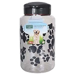 Lixit Dog Treat Jar, Large, 128 oz