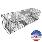 Tomahawk Live Trap 206 Collapsible Trap with Two Doors for Cat and Rabbit Size