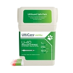 "UltiCare U-40 Insulin Syringe w/ Disposal, 1 cc, 29 Gauge x ½"", 100 ct"