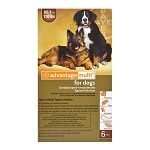 Advantage Multi Rx for Dogs, 88.1-110 lbs, 6 month, (Brown)