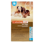 Advantage Multi Rx for Dogs, 9.1-20 lbs, 6 Month (Teal)