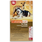 Advantage Multi Rx for Dogs, 20.1-55 lbs, 6 Month (Red)