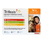 Trifexis Rx, 10.1-20 lbs (Orange), 6 month