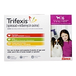 Trifexis Rx, 5-10 lbs, 6 month (Pink)