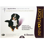 Revolution Rx for Dogs, ORM-D, 85.1-130 lbs, 6 Month (Plum)