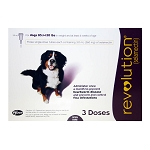 Revolution Rx for Dogs, ORM-D, 85.1-130 lbs, 3 Month (Plum)