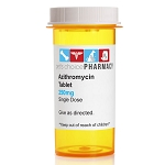 Rx Azithromycin/Zithromax 250mg x 1 tablet