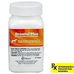 Drontal Plus Rx, 68 mg x 50 Tablets