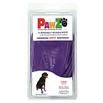 PAWZ Dog Boots, Large (Purple)