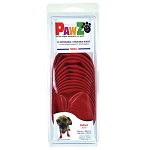 PAWZ Dog Boots, Small (Red)