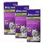 Feliway Spray, 20 ml, 3 Pack