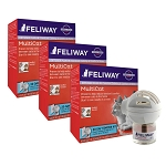 Feliway Multicat Starter Kit-48ml DIFF and REFILL 3 pack