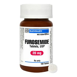 Furosemide Rx Tablets 20 Mg X 100 Ct