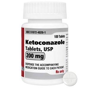 ketoconazole rx tablets 200 mg x 100 ct