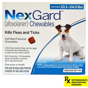 Nexgard For Dogs Rx 10 240 Lbs 3 Month